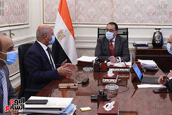 اجتماع مصطفى مدبولى وكامل الوزير (1)
