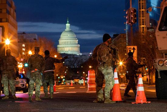 انتشار القوات في أمريكا