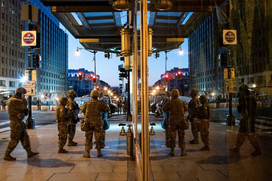 انتشار قوات الحرس الوطني