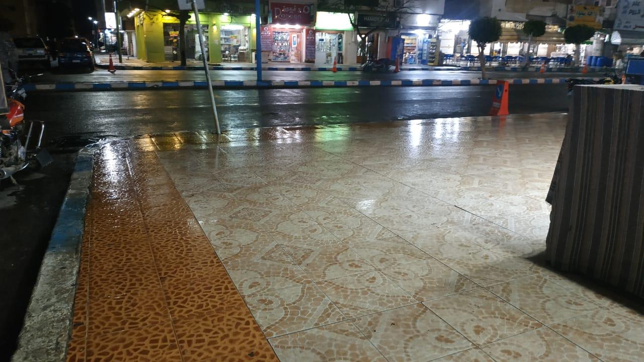 حالة الطقس فى شوارع محافظة مطروح (4)