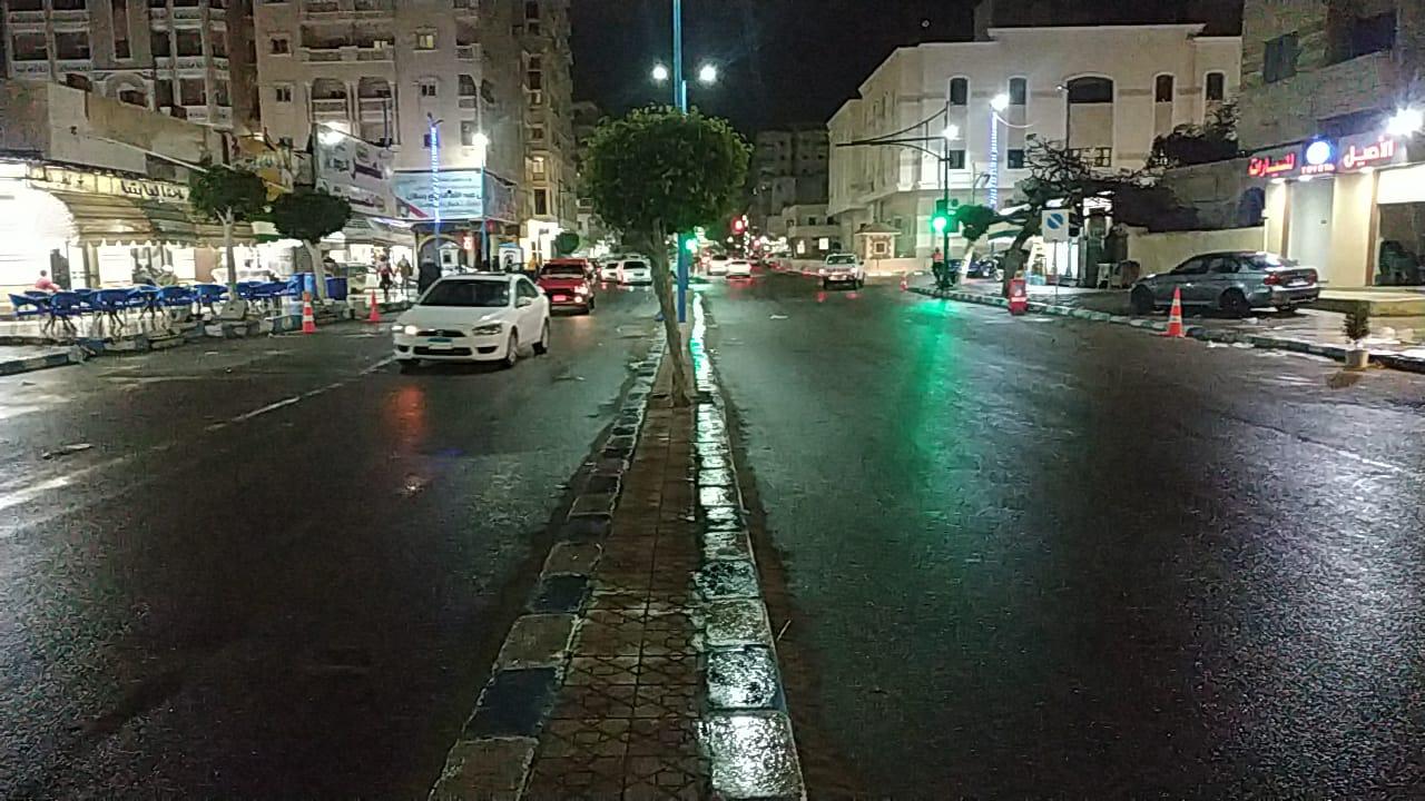 حالة الطقس فى شوارع محافظة مطروح (2)