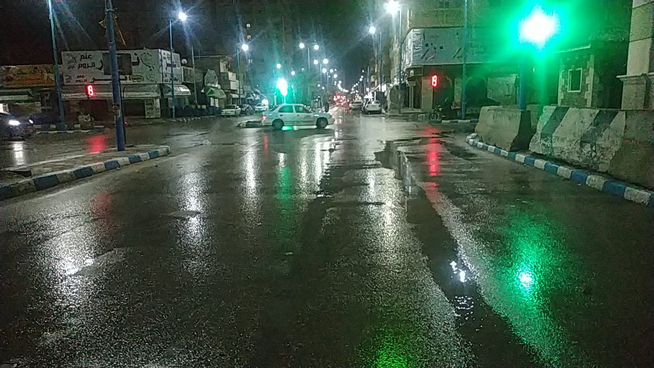 حالة الطقس فى شوارع محافظة مطروح (3)