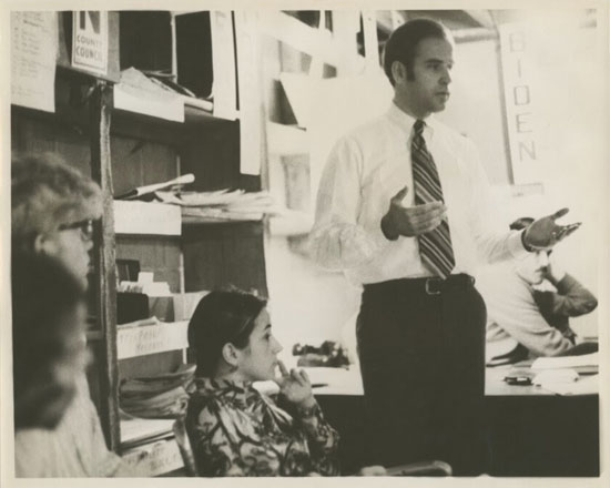 بايدن-فى-مستهل-حياته-السياسية-عام-1970