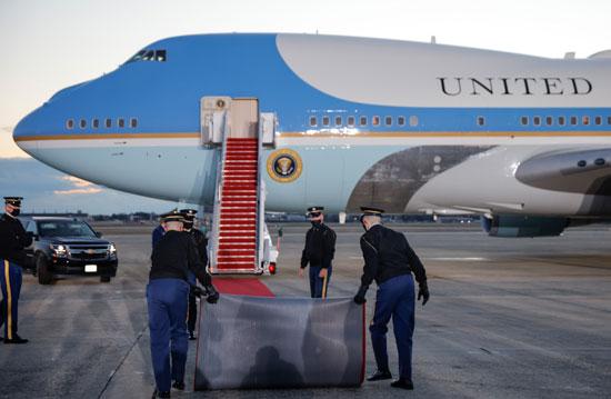 استعدادات لنقل ترامب إلى مقر إقامته الجديد فى فلوريدا