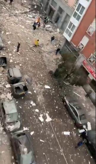 انفجار في إسبانيا