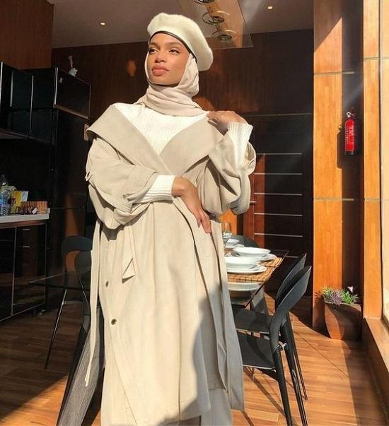 أزياء محجبات كلاسيك بالشابوه (3)