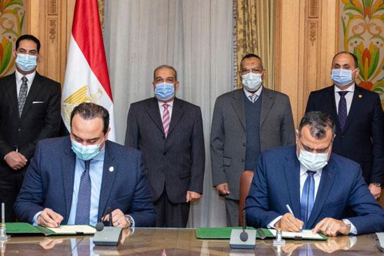 توقيع بروتوكول تعاون مع هيئة الرعاية الصحية (2)