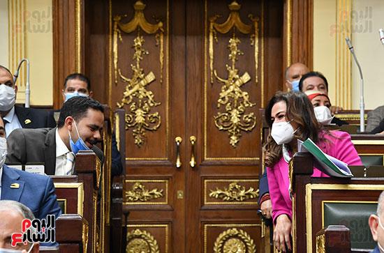 النائب أشرف رشاد فى الجلسة العامة