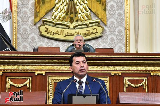 أشرف صبحى وزير الشباب