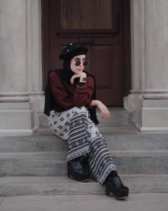 أزياء محجبات كاجوال بالشابوه (4)