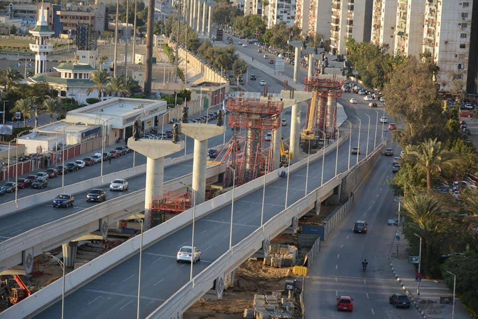 الاعمال المنفذه بمشروع منورويل العاصمة الإدراية بشارع يوسف عباس