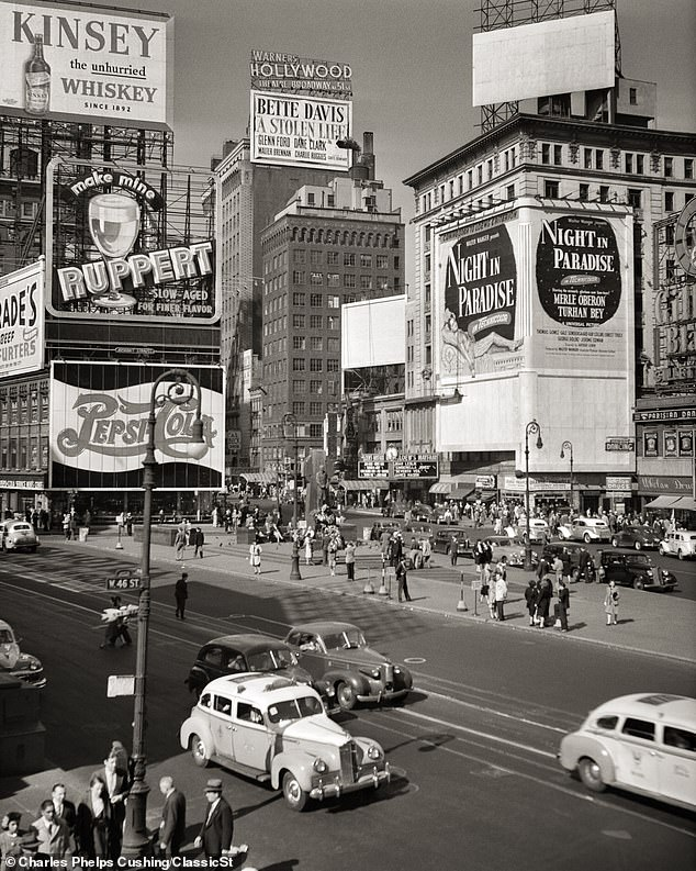 تم التقاط صورة لمدينة نيويورك عام 1946