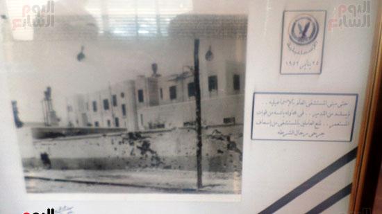 لوحات توثق معركة الشرطة داخل متحف الشرطة بالاسماعيلية (4)
