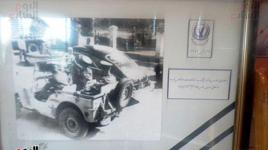 لوحات توثق معركة الشرطة داخل متحف الشرطة بالاسماعيلية (3)