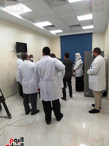 مستشفى أبو خليفة فى الإسماعيلية (4)