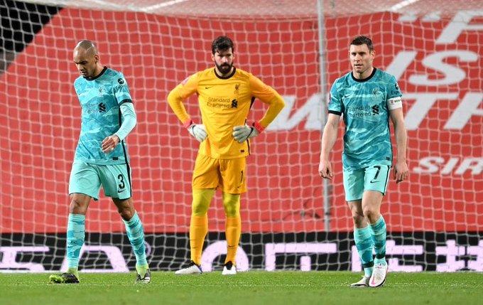 انهيار دفاع ليفربول