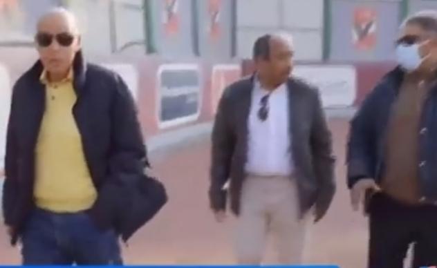 وفد من الاسماعيلي يزور الأهلي (2)