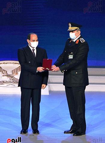 كلمة الرئيس السيسى فى الاحتفال بعيد الشرطة (7)