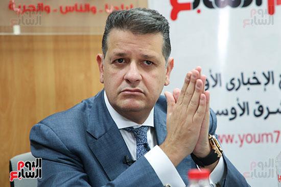 رئيس لجنة حقوق الإنسان بمجلس النواب في ندوة اليوم السابعرئيس لجنة حقوق الإنسان بمجلس النواب في ندوة اليوم  (8)