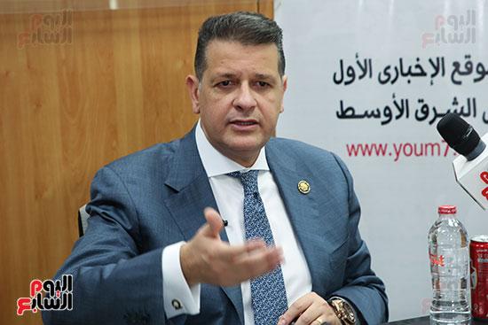 رئيس لجنة حقوق الإنسان بمجلس النواب في ندوة اليوم السابعرئيس لجنة حقوق الإنسان بمجلس النواب في ندوة اليوم  (3)