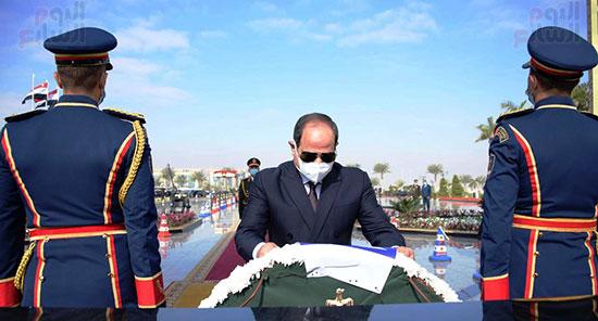 كلمة الرئيس السيسى فى الاحتفال بعيد الشرطة (9)