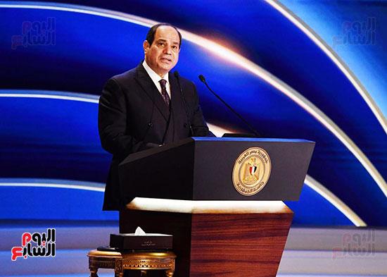 كلمة الرئيس السيسى فى الاحتفال بعيد الشرطة (20)