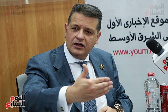 رئيس لجنة حقوق الإنسان بمجلس النواب في ندوة اليوم السابعرئيس لجنة حقوق الإنسان بمجلس النواب في ندوة اليوم  (4)