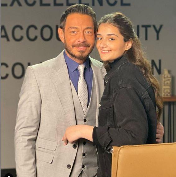 احمد زاهر وملك ابنته