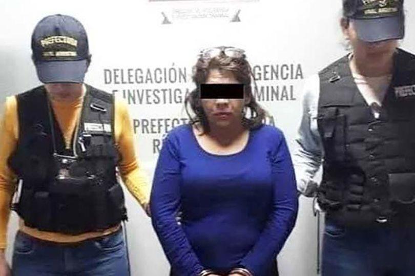 تم القبض على الزوجة من قبل السلطات في المكسيك