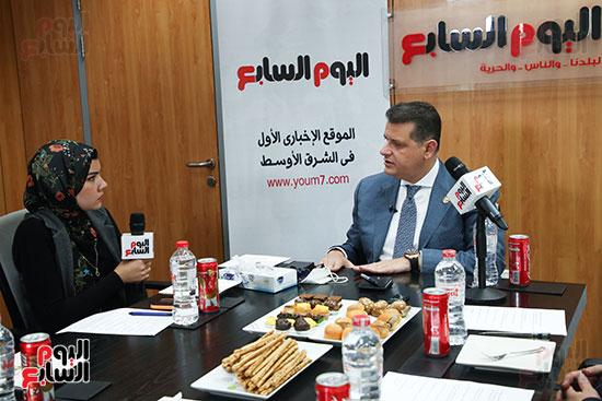 رئيس لجنة حقوق الإنسان بمجلس النواب في ندوة اليوم السابعرئيس لجنة حقوق الإنسان بمجلس النواب في ندوة اليوم  (6)