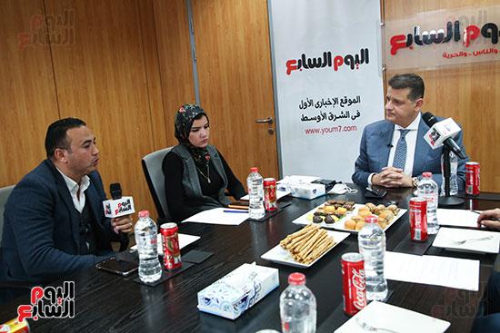 رئيس لجنة حقوق الإنسان بمجلس النواب في ندوة اليوم السابعرئيس لجنة حقوق الإنسان بمجلس النواب في ندوة اليوم  (7)
