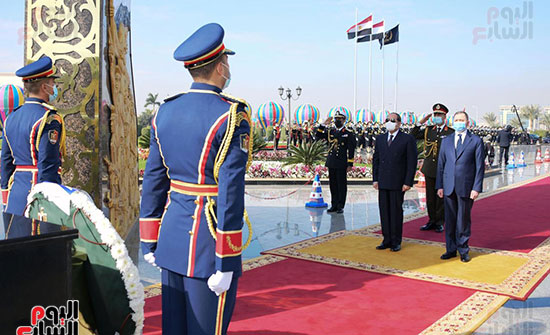 كلمة الرئيس السيسى فى الاحتفال بعيد الشرطة (1)