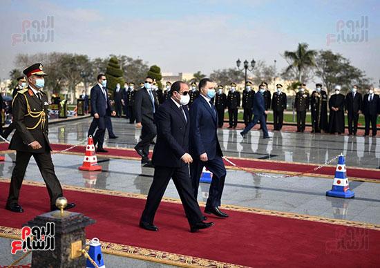 كلمة الرئيس السيسى فى الاحتفال بعيد الشرطة (15)