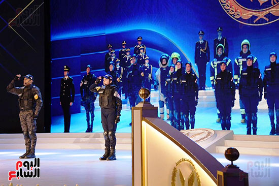 كلمة الرئيس السيسى فى الاحتفال بعيد الشرطة (3)