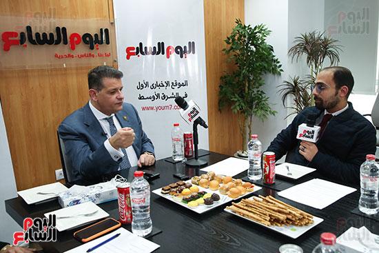 رئيس لجنة حقوق الإنسان بمجلس النواب في ندوة اليوم السابعرئيس لجنة حقوق الإنسان بمجلس النواب في ندوة اليوم  (5)