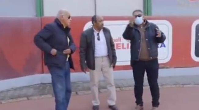 وفد من الاسماعيلي يزور الأهلي (1)