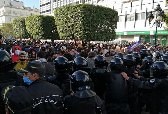قوات الشرطة التونسية