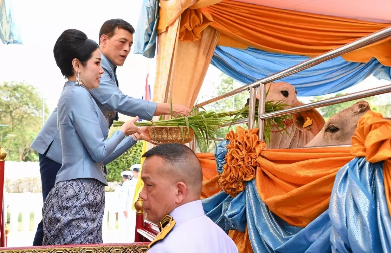الملك التايلاندى وعشيقته