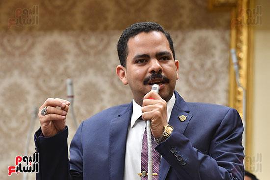 اشرف رشاد رئيس الاغلبية البرلمانيه