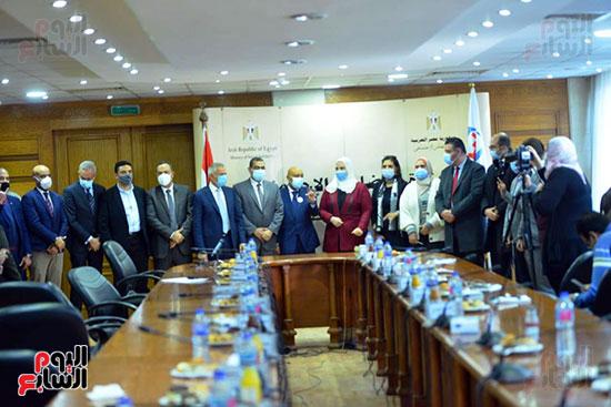 مؤتمر وزارة التضامن والسياحة (3)