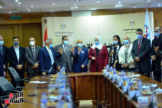 مؤتمر وزارة التضامن والسياحة (12)