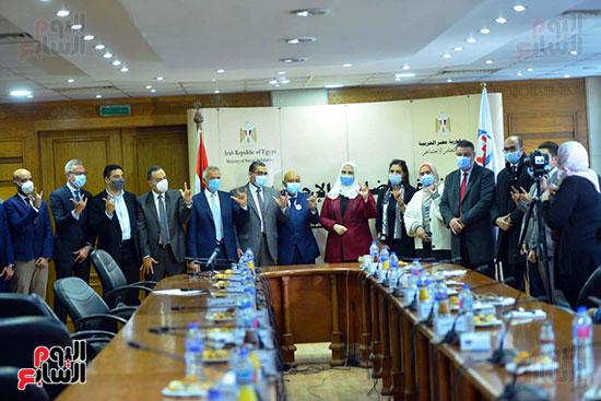 مؤتمر وزارة التضامن والسياحة (2)