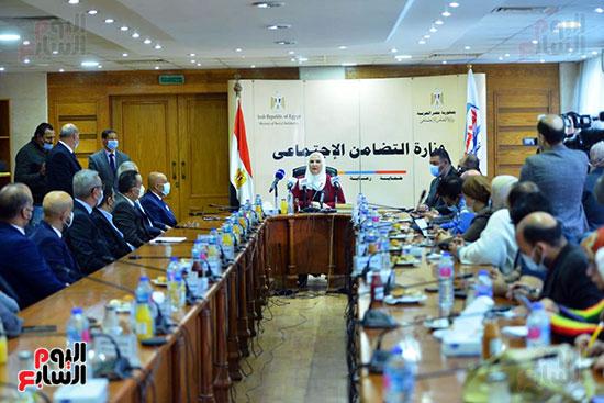 مؤتمر وزارة التضامن والسياحة (14)