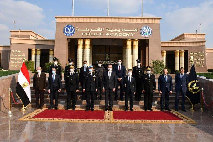 مستشار شرطة الامم المتحدة يزور اكاديمية الشرطة