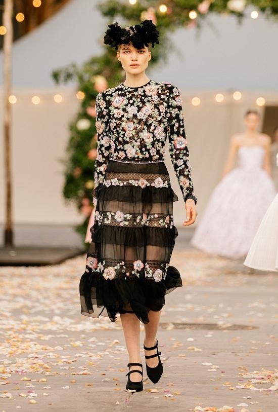فستان فلوري