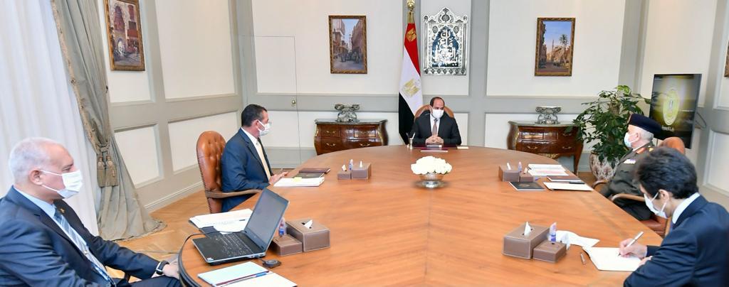 الرئيس السيسي يوجه باستمرار تطوير آليات عمل صندوق تكريم الشهداء وتنمية موارده