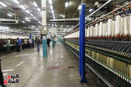 صناعة الغزل والنسيج بالمحلة (2)
