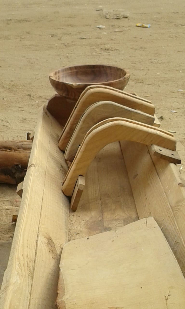 منتجات خشبية تراثية