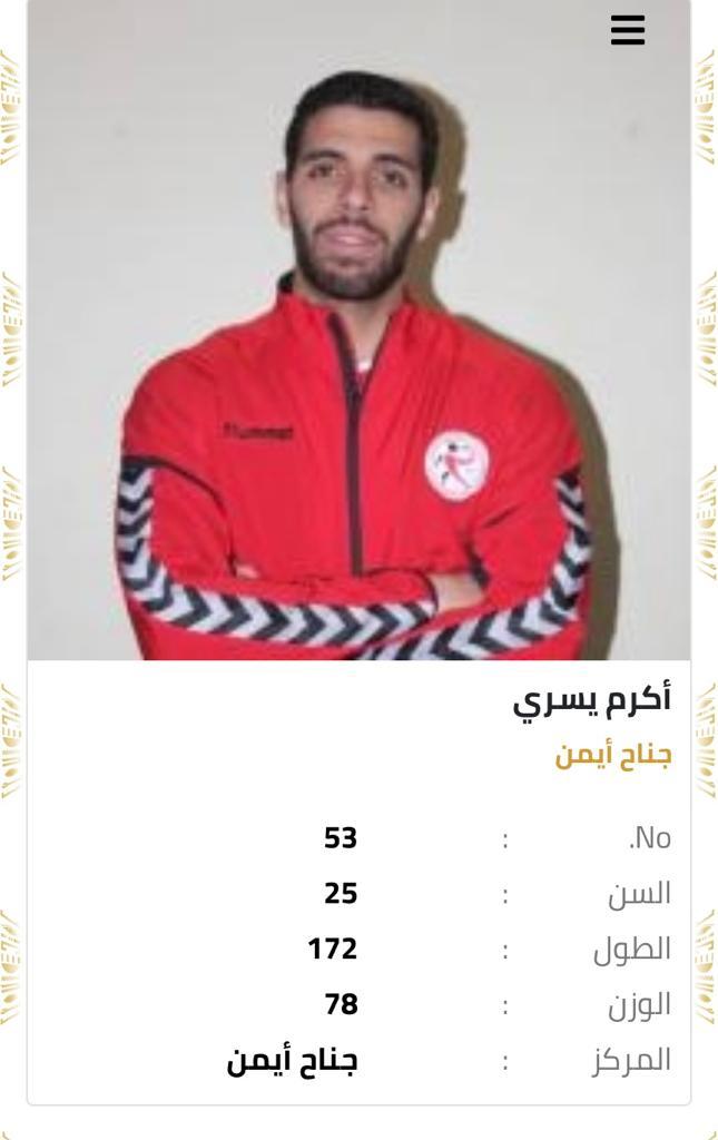 قائمة شرف منتخب مصر لكرة اليد (7)