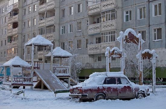 البرودة في روسيا